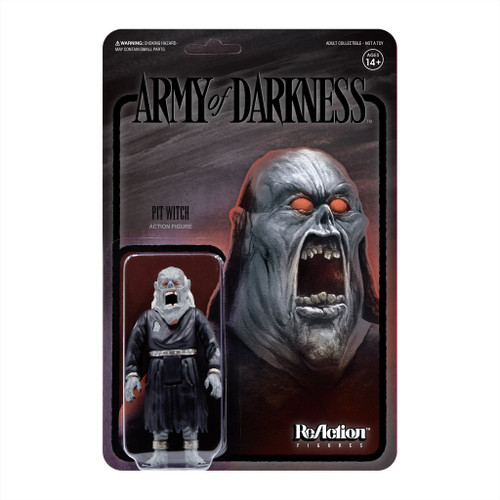 """Super7 Army Of Darkness Midnight Pit Witch ReAction Figure 3.75"""""""