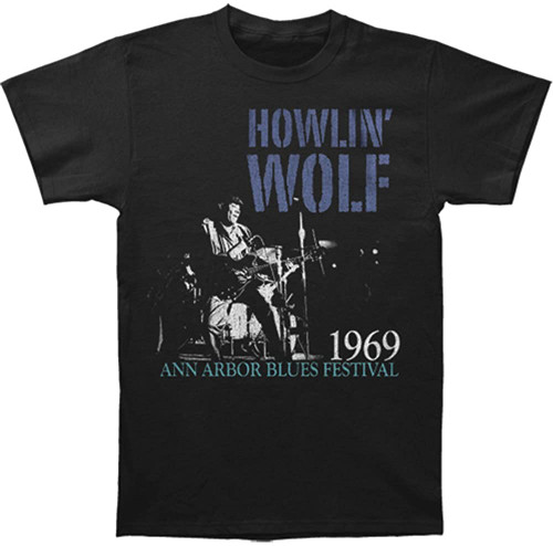 Howlin' Wolf Center Stage Slim-Fit T-Shirt