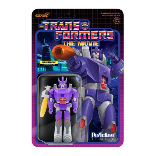 "Super7 Transformers ReAction Galvatron Figure 3.75"""