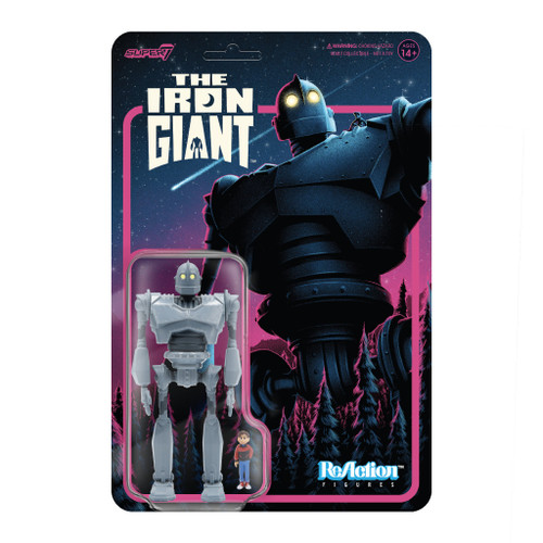 """Super7 The Iron Giant with Hogarth Hughes ReAction Figure 3.75"""""""