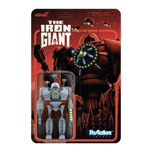 """Super7 The Iron Giant Attack Giant ReAction Figure 3.75"""""""