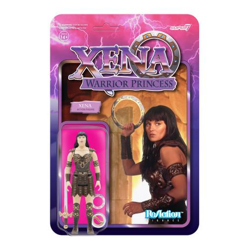 "Super7 Xena Warrior Princess Xena ReAction Figure 3.75"""
