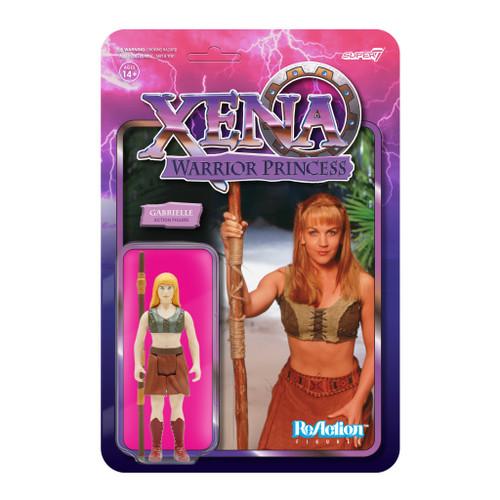 "Super7 Xena Warrior Princess Gabrielle ReAction Figure 3.75"""