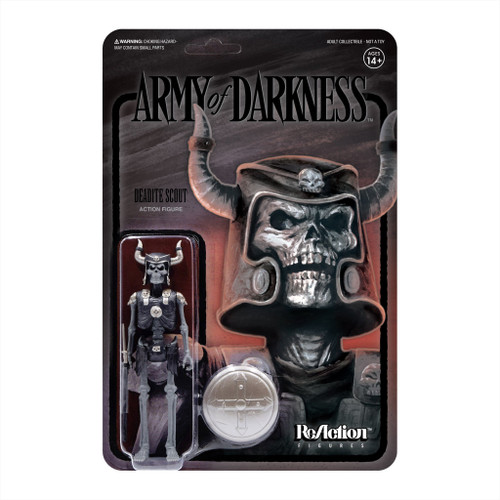 """Super7 Army Of Darkness Midnight Deadite Scout ReAction Figure 3.75"""""""