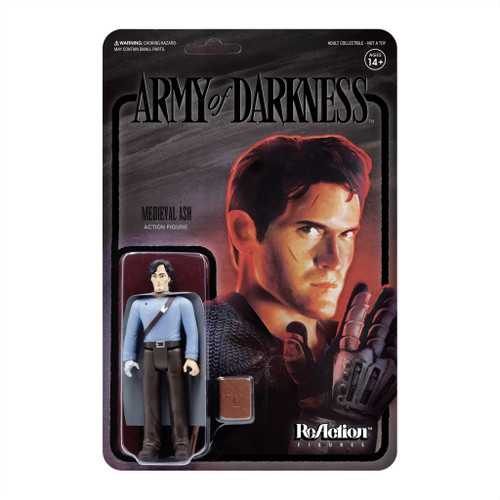 """Super7 Army Of Darkness Midnight Medieval Ash ReAction Figure 3.75"""""""