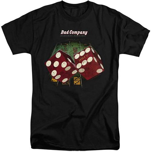 Bad Company Straight Shooter T-Shirt Black