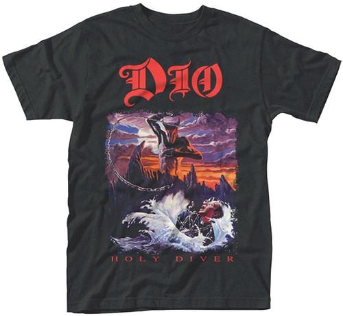 DIO Men's Holy Diver T-Shirt Black