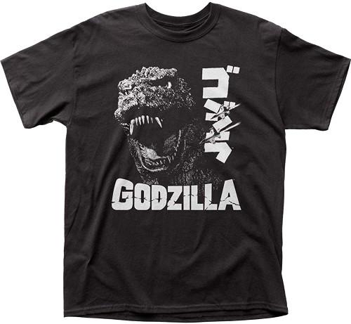 Godzilla Men's Scream T-Shirt Black