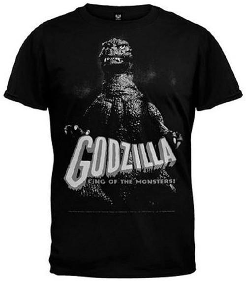 Godzilla Men's King of the Monsters T-Shirt Black