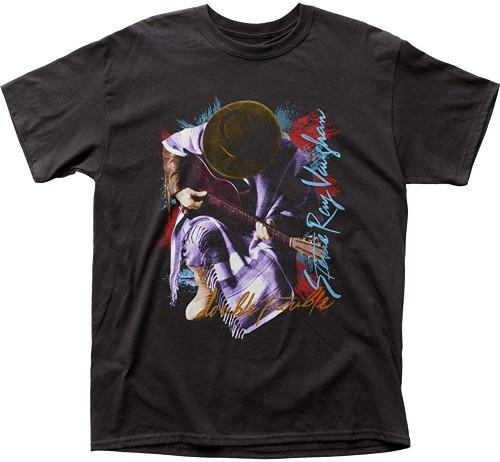 Stevie Ray Vaughan In Step Slim-Fit Black T-Shirt