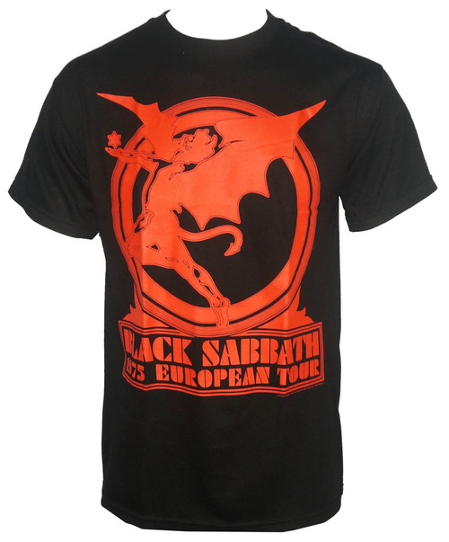 Black Sabbath T-Shirt - Europe 75