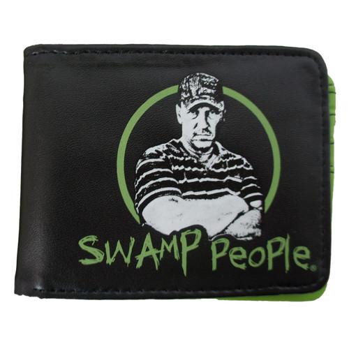 Swamp People Wallet - Logo Troy Face