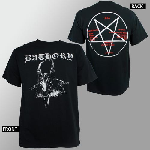 Bathory T-Shirt - Goat Logo