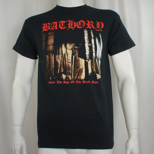 Bathory T-Shirt - Under The Sign Of The Black Mark