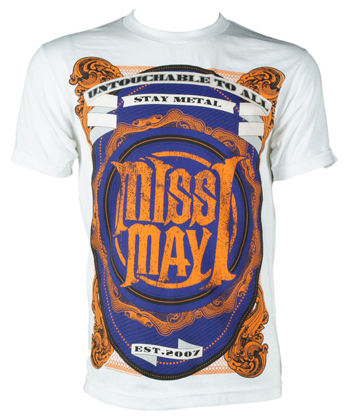 Miss May I  T-Shirt - Metal Crest