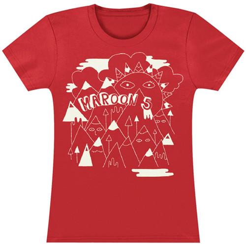 Maron 5 T-Shirt Girls - Mountains