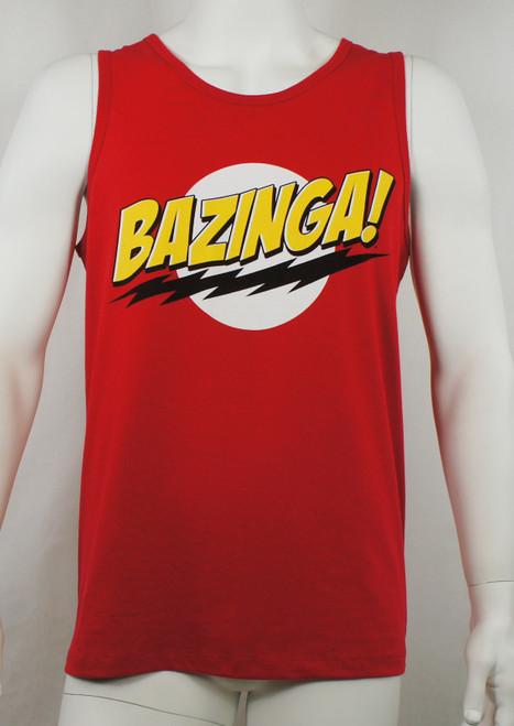 Big Bang Theory Tank top - Bazinga