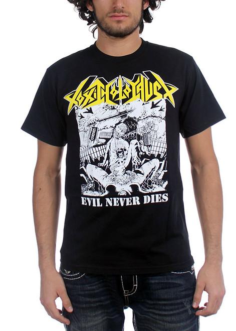 Toxic Holocaust T-Shirt - Evil Never Dies
