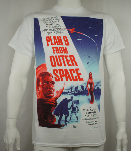 Plan 9 From Other SpaceT-Shirt - Movie Poster