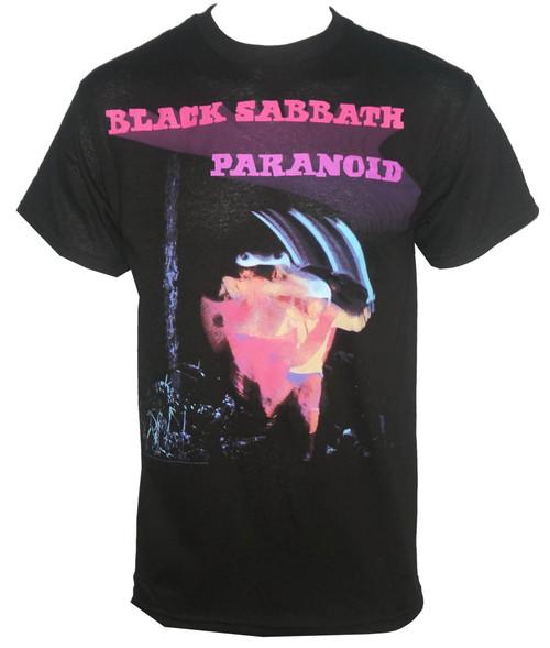 Black Sabbath T-Shirt - Paranoid Motion Trails