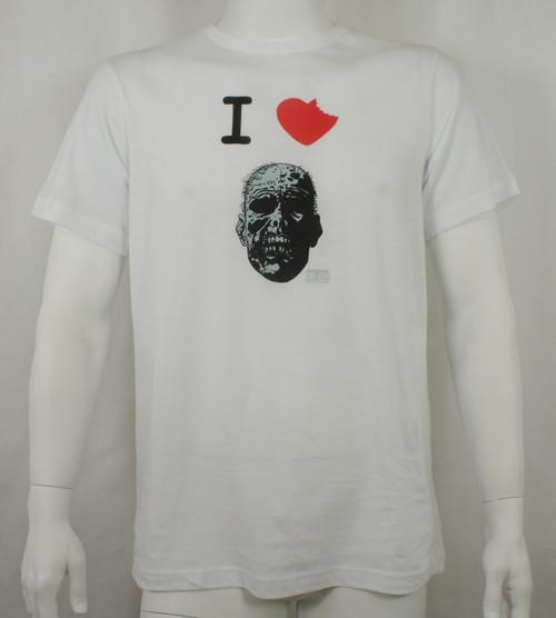 The Walking Dead Comics T-Shirt - I Heart Zombie
