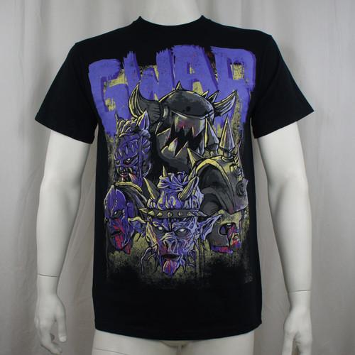 GWAR T-Shirt - Destroyers Black w/ Purple