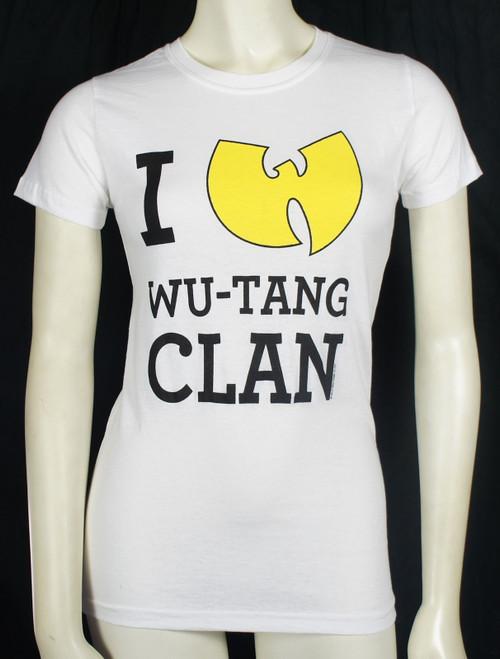 Wu Tang Clan T-Shirt Girls - I Love Wu-Tang Clan