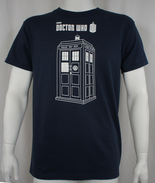 Doctor Who Series 7 Linear Tardis T-Shirt