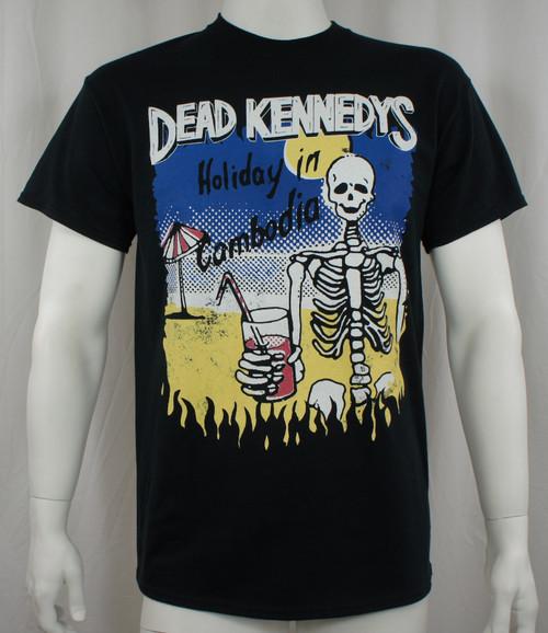 Dead Kennedys T-Shirt - Cambodian Skeleton