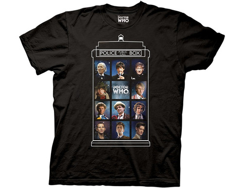 Doctor Who Men's 11 Doctors T-Shirt