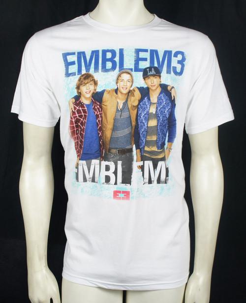 Emblem 3 T-Shirt - Group Photo