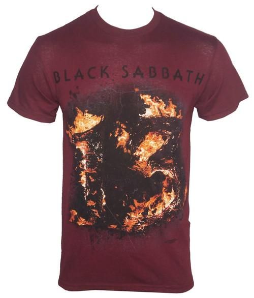 Black Sabbath T-Shirt - 13 Maroon