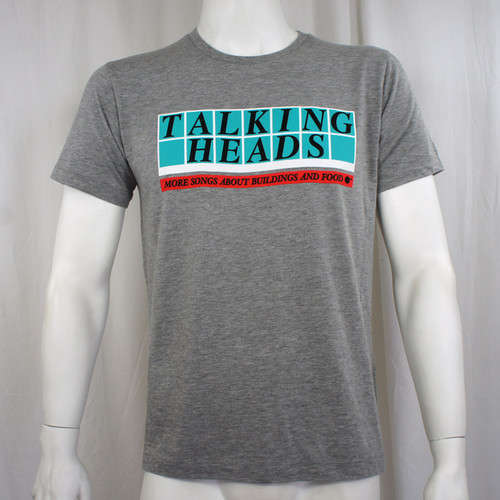 Talking Heads T-Shirt - More Songs Boxes