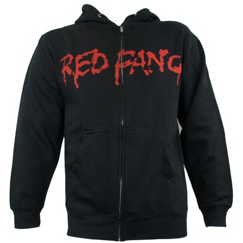 Red Fang Zipup Hoodie - Prehistoric Dog