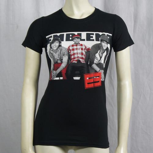 Emblem 3 T-Shirt Girls - Plain Photo