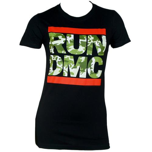 Run Dmc T-Shirt Girls - Camo Logo