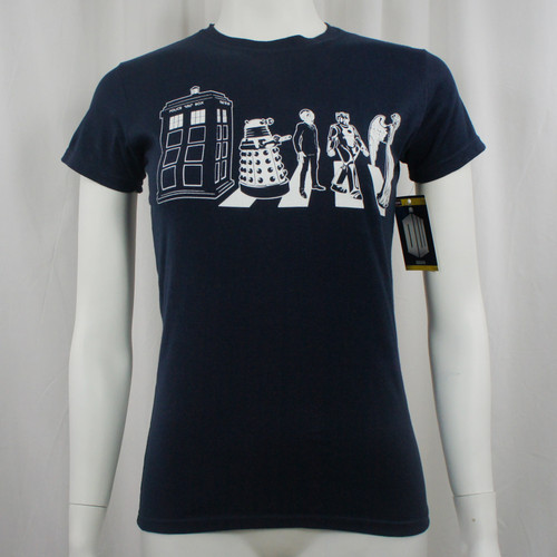 Doctor Who Juniors Detailed Street Crossing T-Shirt