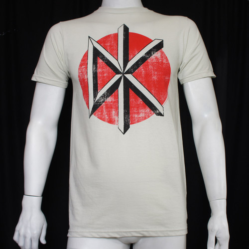 Dead Kennedys T-Shirt - Distressed Logo White