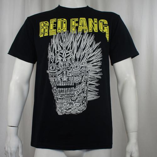 Red Fang T-Shirt - Mechanical Wolf Face Logo
