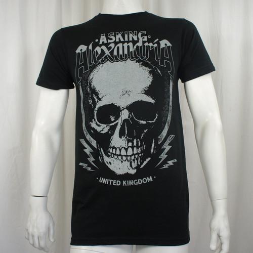 Asking Alexandria T-Shirt - Jumbo Skull Jack UK Rock