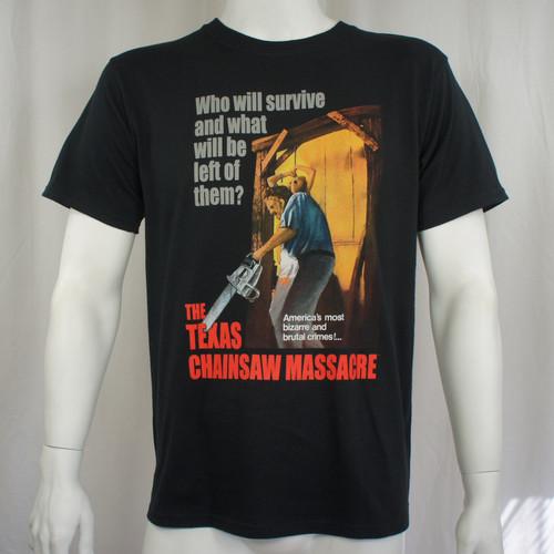 Texas Chainsaw Massacre T-Shirt - Bizzarre & Brutal Crimes