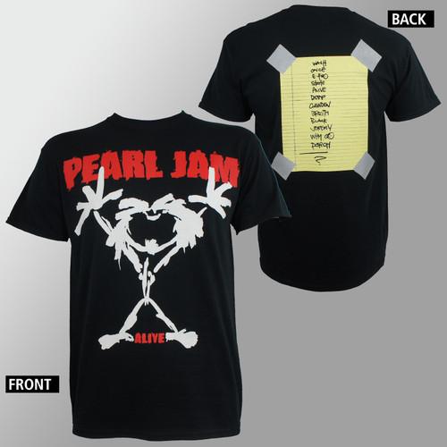 Pearl Jam T-Shirt - Stickman