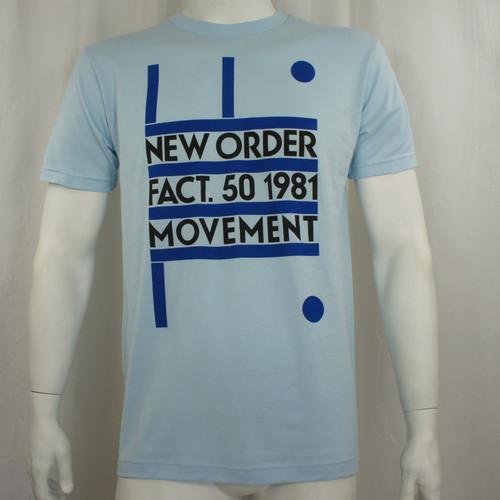 New Order T-Shirt - Fact 50 1981 Movement