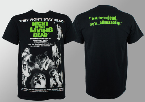 Night Of The Living Dead T-Shirt - Movie Poster