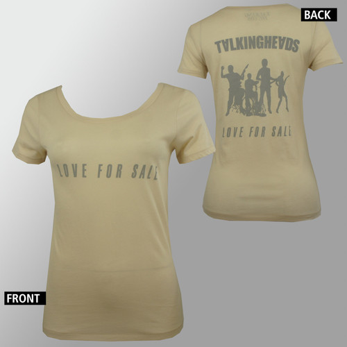 Talking Heads T-Shirt Girls - Love For Sale Silhouette