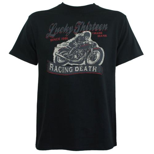 Lucky 13 T-Shirt - Racing Death