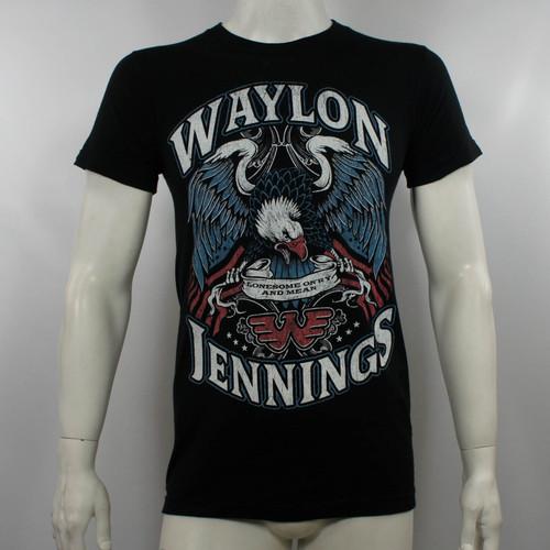 Waylon Jennings T-Shirt - Lonesome