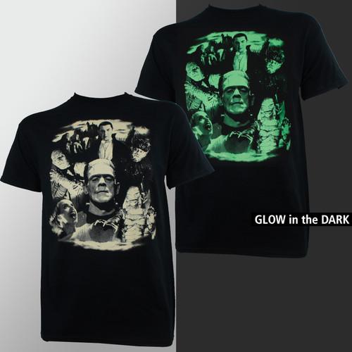 Universal Monster T-Shirt - Bela Collage