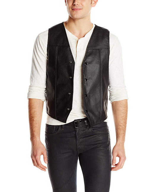 AMC The Walking Dead Faux Leather Vest - Wings