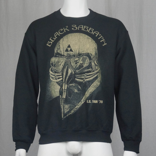 Black Sabbath Crew Neck Sweatshirt - Us Tour 79